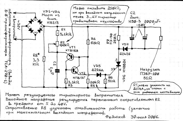 трансформатора ТСА-270-1,